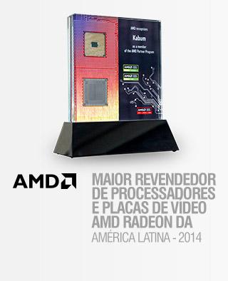 MAIOR REVENDEDOR DE PROCESSADORES E PLACAS DE VÍDEO AMD RADEON DA 2014 AMÉRICA LATINA