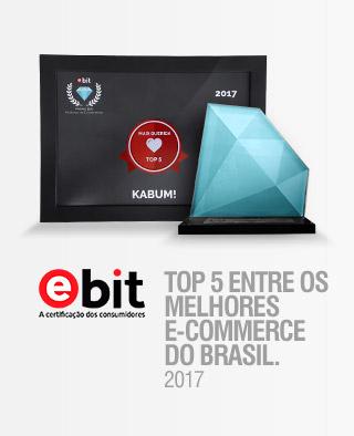 ELEITO UM DOS 5 MELHORES E-COMMERCES DO BRASIL 2017 - PREMIAÇÃO EBIT