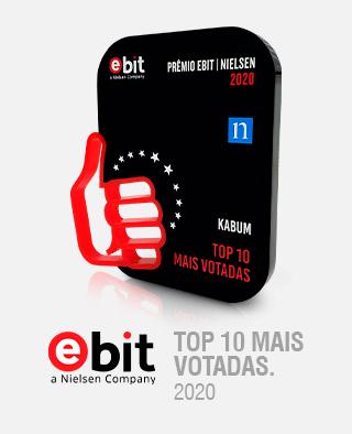 PRÊMIO EBIT 2020 - TOP 10 MAIS VOTADAS.